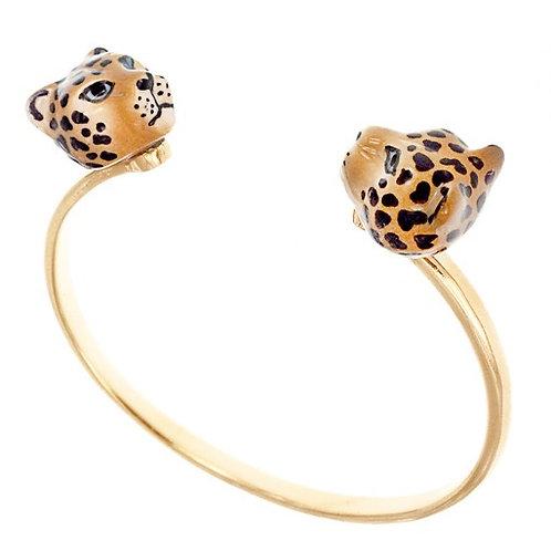 Dueling Leopard Bracelet