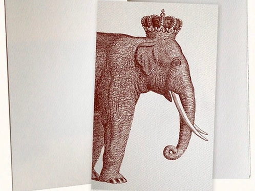 Royal Elephant Pocket Journal