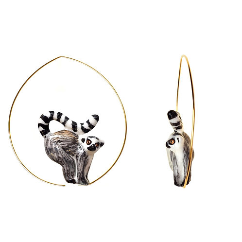Nach Lemur Earrings