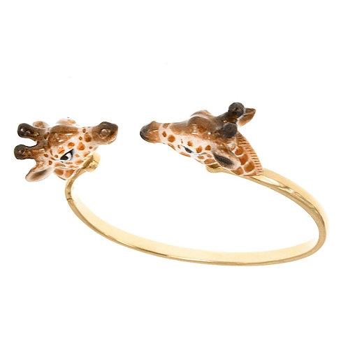 Dueling Giraffes