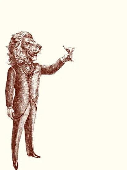Leo The Gentleman Notecards