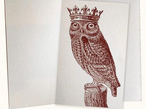 Royal Owl Pocket Journal