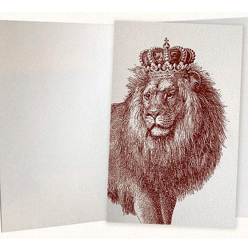 Royal Lion Pocket Journal