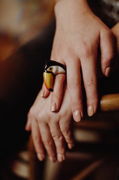 Nach Toucan Ring