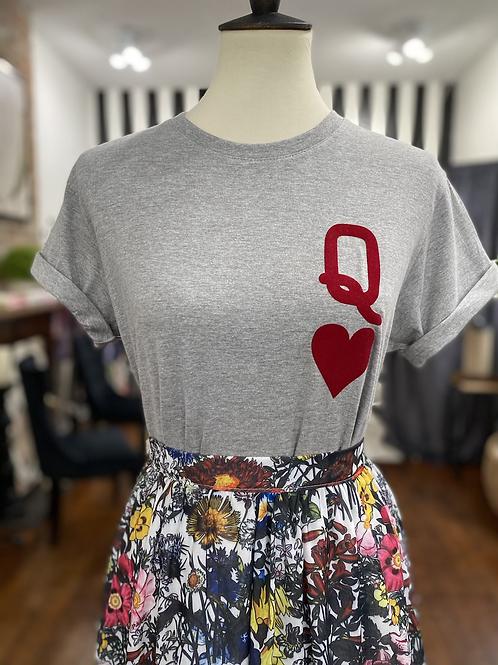 Queen of Hearts (Gray)