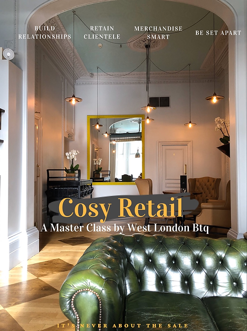 Cosy Retail 3 Master Class Series