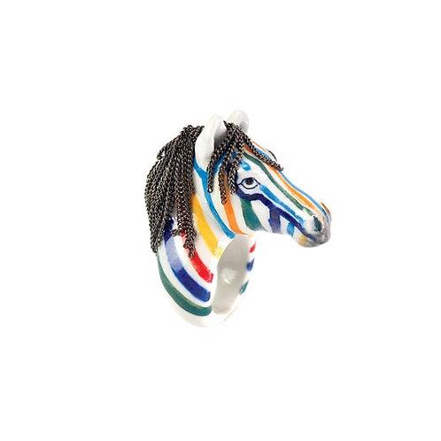 Nach Rainbow Zebra Ring