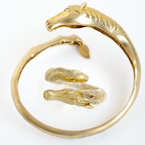 Brass Stallion Cuff