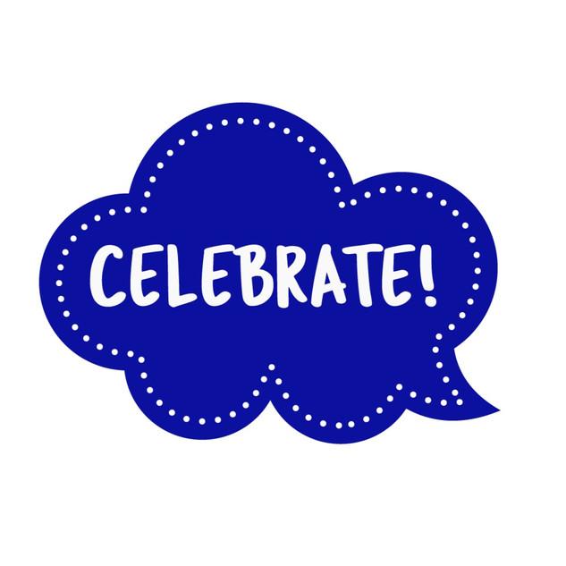 Blue Celebrate!