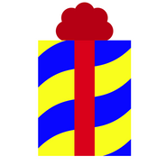 Blue-Red-Yellow Gift