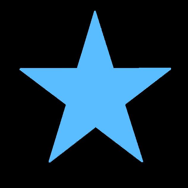 Light Blue Star