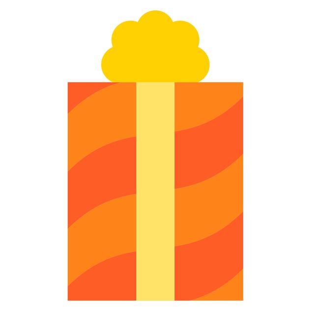 Orange-Yellow Gift