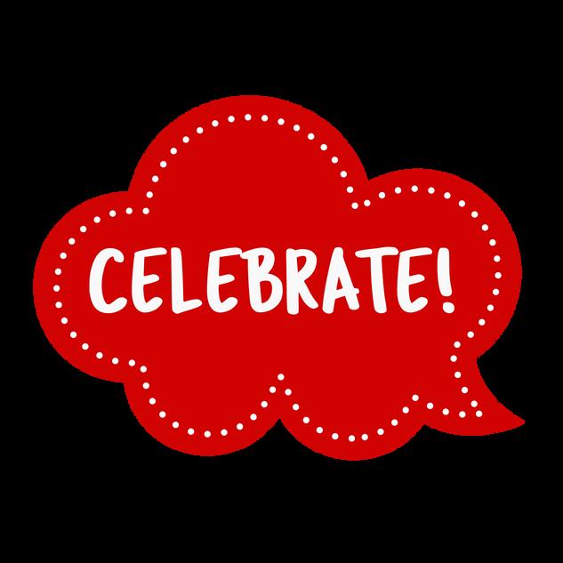 Red Celebrate!