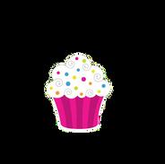 Pink-White Cupcake
