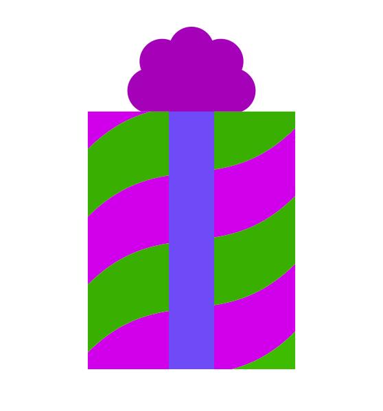 Purple-Green Gift
