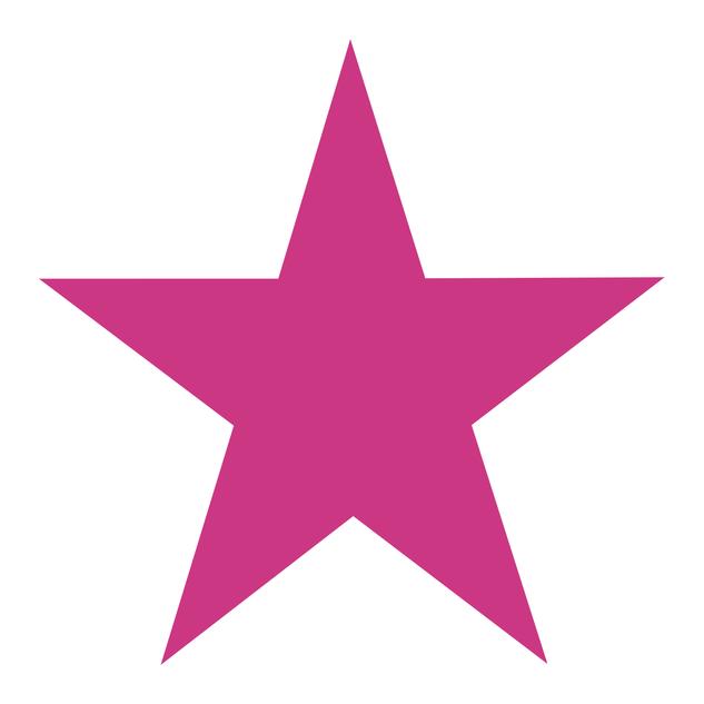 Hot Pink Star