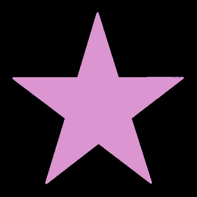 Light Pink Star