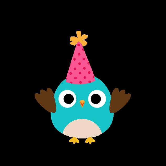 Owl W/Hat