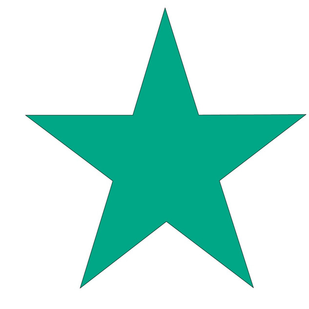 Emerald Green Star