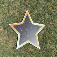 Black-Gold Star