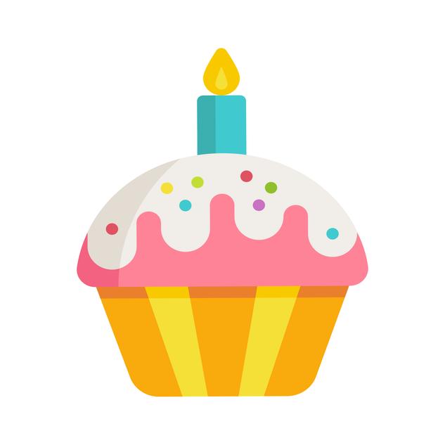 Cupcake W/Candle