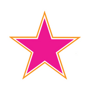 Pink-Orange Star