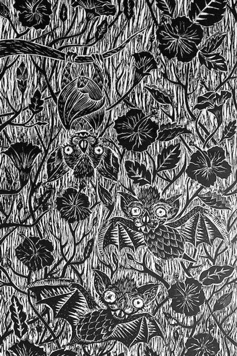 hibiscus y murciélagos