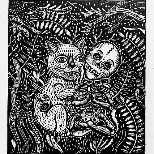 el puma y la calaca