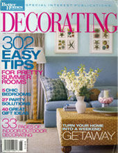 Better Homes and Gardens Decorating Magazine featuring Zollinger Furniture Company