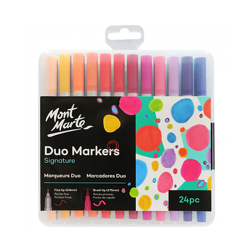 Mont Marte Signature Duo Markers 24pc