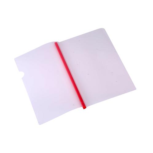Deli Transparent Sliding Bar Report Cover A4 5 Pcs