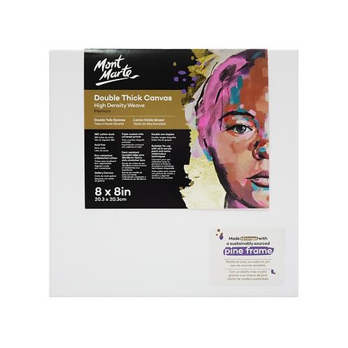 Mont Marte Premium Double Thick Canvas 20.3 x 20.3cm (8 x 8in)