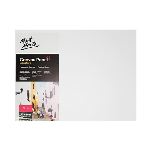 Mont Marte Signature CanvasPanel 1pc 30.5 x 40.6cm (12 x 16in)