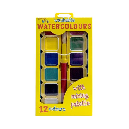 Mont Marte Kids Colour Watercolour Block Set 14pce