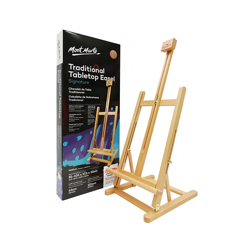 Mont Marte Signature Traditional Tabletop Easel - Medium