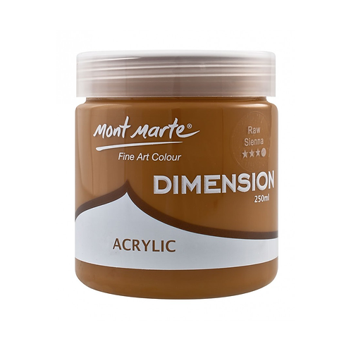 Mont Marte Dimension Acrylic 250ml - Raw Sienna