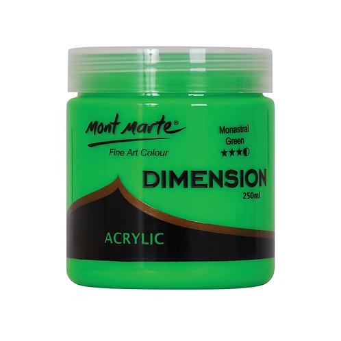 Mont Marte Dimension Acrylic 250ml - Monastral Green