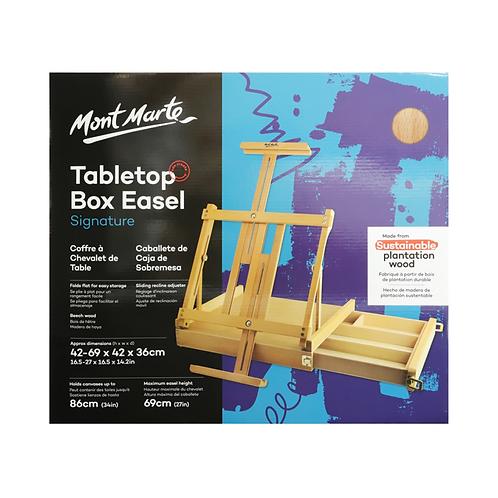 Mont Marte Signature Tabletop Box Easel