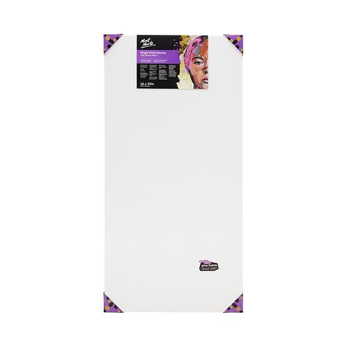 Mont Marte Single Thick Canvas Premium 40.6 x 81.2cm