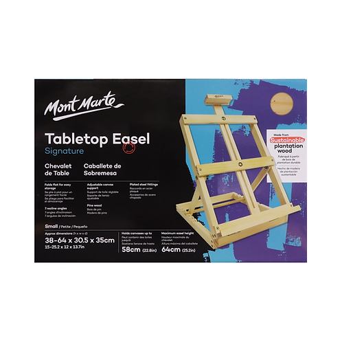 Mont Marte Signature Tabletop Easel - Small