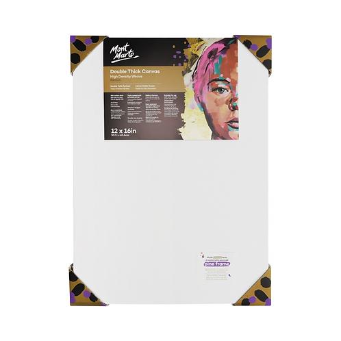 Mont Marte Premium Double Thick Canvas 30.5 x 40.6cm (12 x 16in)