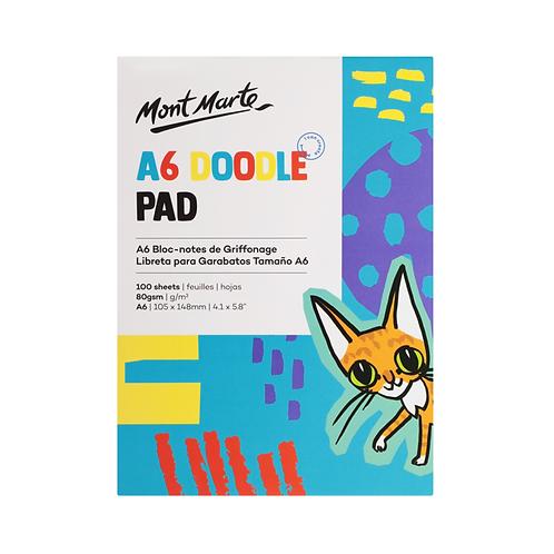 Mont Marte Doodle Pad A6 100 Sheet