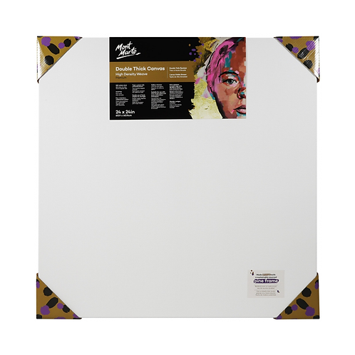 Mont Marte Premium Double Thick Canvas 60.9 x 60.9cm (24 x 24in)