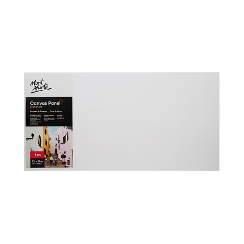 Mont Marte Signature Canvas Panel 1pc 30.5 x 60.9cm (12 x 24in)