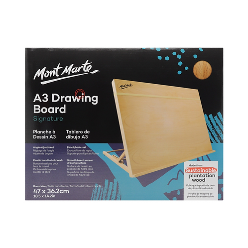 Mont Marte Signature Drawing Board A3 (18.5 x 14.2in)