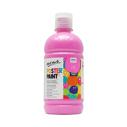 Mont Marte Poster Paint 500ml (16.91oz) - Pink