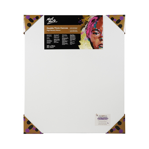 Mont Marte Premium Double Thick Canvas 50.8 x 60.9cm (20 x 24in)