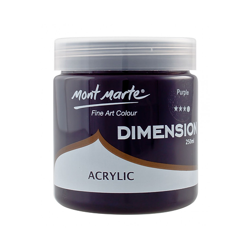 Mont Marte Dimension Acrylic 250ml - Purple