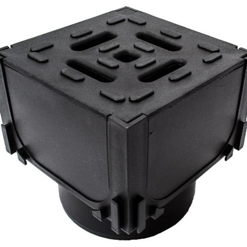 Aco Hexdrain Corner/Quad Box unit