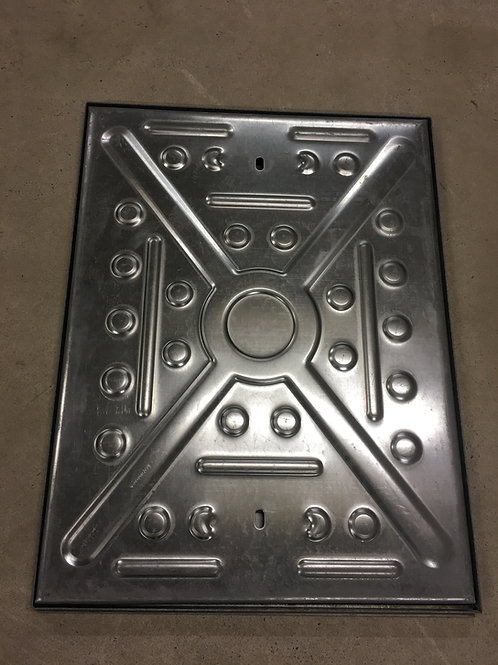 Manhole Cover 600x450 10Tonne Solid Top